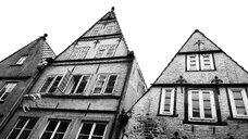Germany, Bremen, old buildings in Boettcherstrasse - ALEF00106