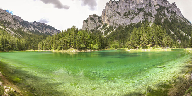 Austria, Styria, Tragoess, Green Lake - AIF00649