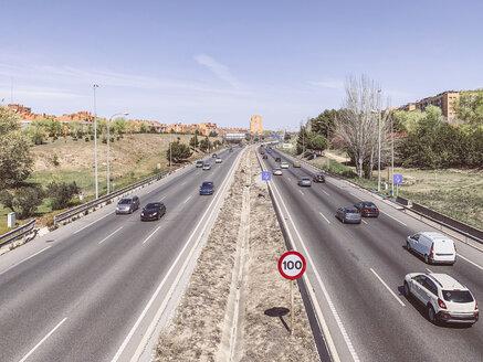 Highway ring road in Madrid, Spain - OCMF00327