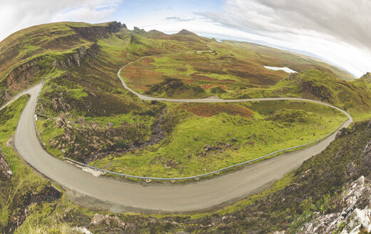 United Kingdom, Scotland, view from the Quiraing on the Isle of Skye - WPEF01417