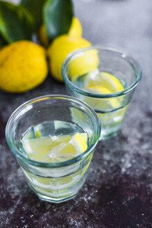 Glasses of homemade lemonade - GIOF05897