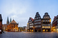 Germany, Bremen, City Hall - PUF01384