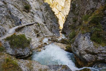 Austria, Tyrol, Karwendel mountains, Gleirschklamm, Gleirschbach - SIEF08494