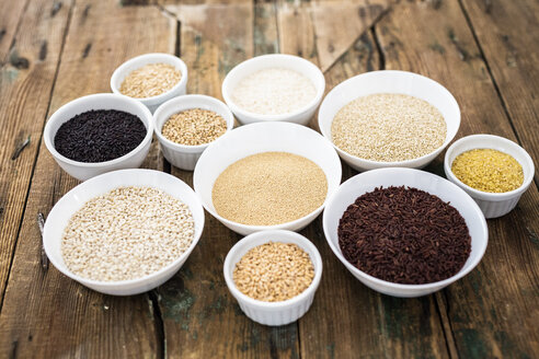 Cereal mix: black rice, red rice, barley, amaranth, quinoa, rice, bulgur, oats and buckwheat - GIOF05921