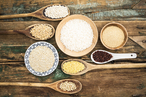 Cereal mix: red rice, barley, amaranth, quinoa, rice, bulgur and buckwheat - GIOF05927