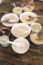 Cereal mix: red rice, barley, amaranth, quinoa, rice, bulgur, spelt, oats and buckwheat - GIOF05933