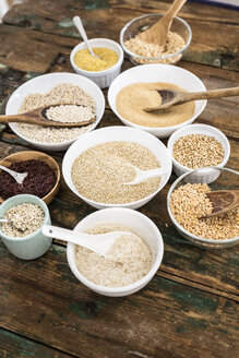 Cereal mix: red rice, barley, amaranth, quinoa, rice, bulgur, spelt, oats and buckwheat - GIOF05933