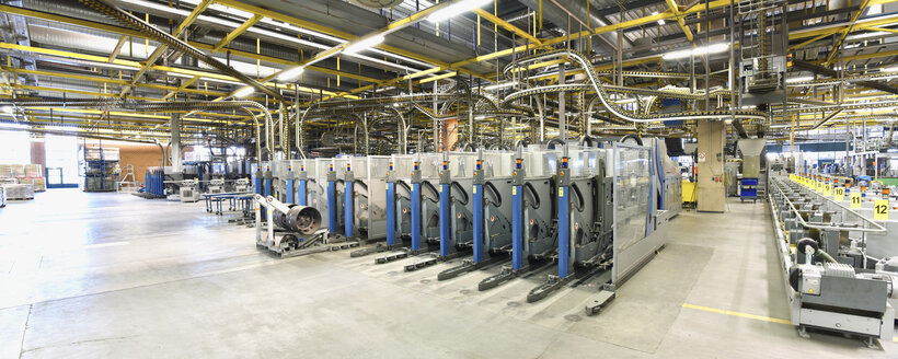 Machines for transport and sorting plant in a printing shop - SCHF00506