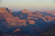 USA, Arizona, sunset over Grand Canyon - RUNF01713