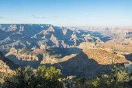 USA, Arizona, overlook over the Grand Canyon in afternoon light - RUNF01716