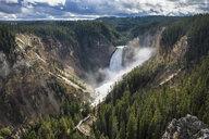 USA, Wyoming, Yellowstone National Park, Grand canyon of the Yellowstone - RUNF01748