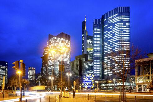 Germany, Frankfurt, Willy Brandt Platz - PUF01398