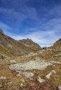 Austria, Vorarlberg, Silvretta, Klostertal, trail and mountain hut - WWF04973