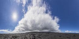USA, Hawaii, Big Island, Volcanoes National Park, Ka Lae Apuki, lava fields - FOF10547