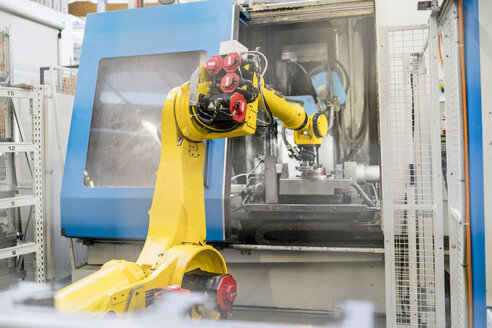 Industrial robot in modern factory - DIGF06716