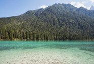 Italy, Alto Adige, Dolomites, Lago Dobbiaco - GWF06058