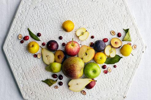 Apples, plum and peach - CUF50431