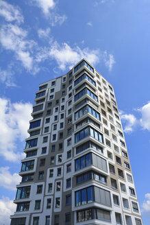 detail of futuristic architecture, isartower, siemenswerke, munich, bavaria, germany - AXF00820