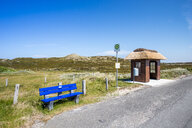 Germany, Schleswig-Holstein, Sylt, bus stop - EGBF00311