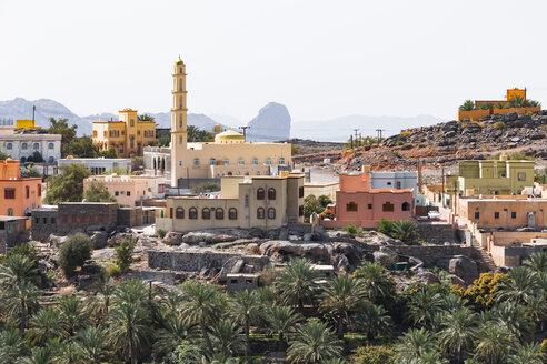 Mosque in Misfat al Abriyyin, Ad Dakhiliyah, Oman - WVF01204