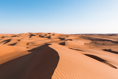 Sultanate Of Oman, Wahiba Sands, dunes in the desert - WVF01369