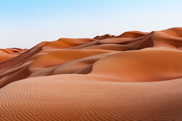 Sultanate Of Oman, Wahiba Sands, dunes in the desert - WVF01405