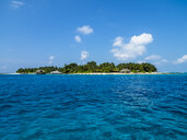 Maledives, Ross Atoll, Island and lagoon - AMF06897