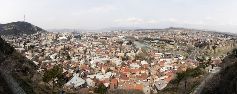 Georgia, Tbilisi, cityscape - ALRF01434