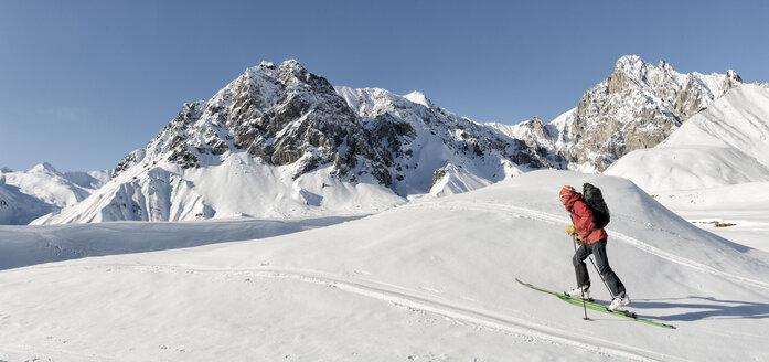 Georgia, Caucasus, Gudauri, Ski Touring - ALRF01488