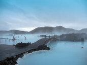Iceland, Blue Lagoon in Keflavik near Reykjavik - TAM01317