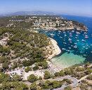 Spain, Mallorca, Palma de Mallorca, Aerial view of Region Calvia and El Toro, Portals Vells - AMF06922