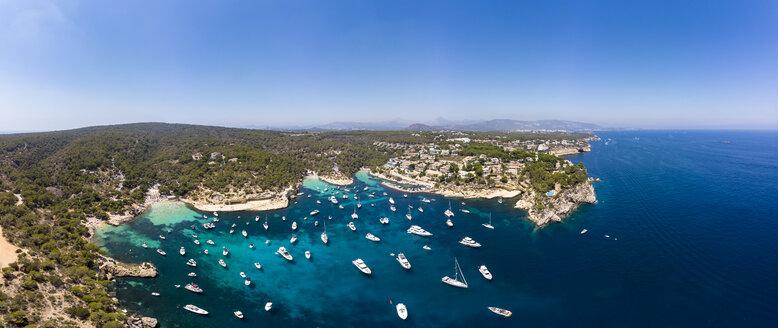 Spain, Mallorca, Palma de Mallorca, Aerial view of Region Calvia and El Toro, Portals Vells - AMF06925