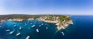 Spain, Mallorca, Palma de Mallorca, Aerial view of Region Calvia and El Toro, Portals Vells - AMF06928
