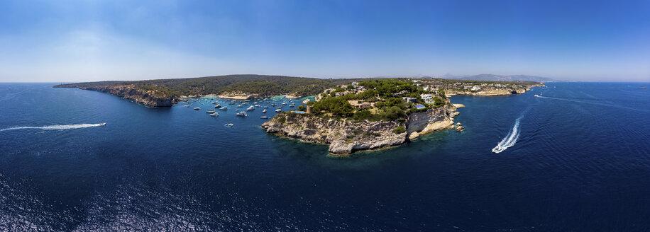 Spain, Mallorca, Palma de Mallorca, Aerial view of Region Calvia and El Toro, Portals Vells - AMF06931
