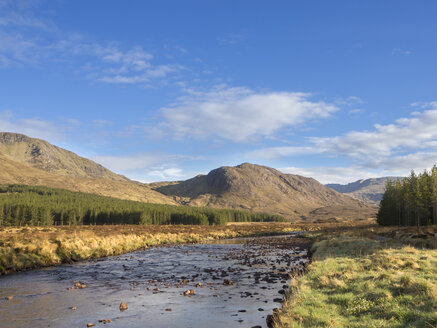Great Britain, Scotland, Northwest Highlands, River Oykel - HUSF00034
