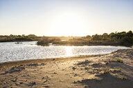 Italy, Sicily, sunset at the beach of Eloro - MAMF00587