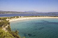Greece, Messenia, Gialova Lagoon, Voidokilia beach - MAMF00595