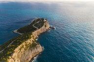 Greece, Lefkada, aerial view of Cape Lefkadas - TAMF01364