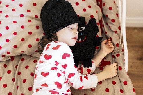 Sevilla, Spain, kid, girl, bed - ERRF01194