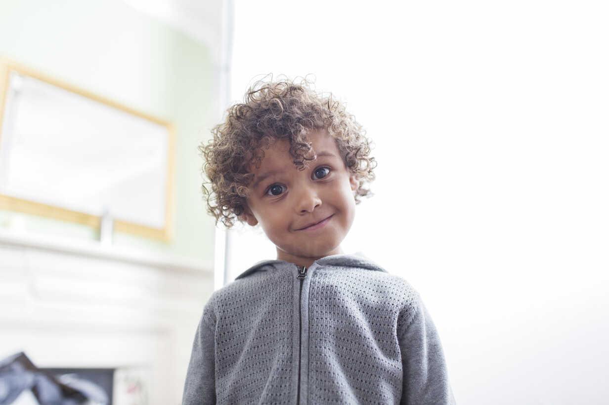 Portrait Cute Boy With Curly Hair Caif23347 Sam Edwards Westend61