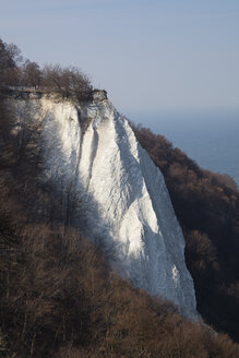 Germany, Mecklenburg-Western Pomerania, Ruegen, Jasmund National Park, Chalk Cliff Koenigsstuhl - WIF03885