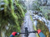 Spain, Asturia, Ruta del Alba, Personal perspective of cyclist - LAF02280