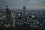 Japan, Tokyo, cityscape as seen from Government Building - LHPF00714