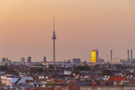 Germany, Berlin, skyline by sunset - TAMF01392