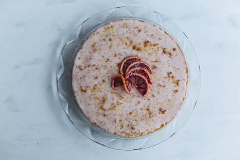 Lemon tart with blood orange sugar icing - STBF00335