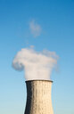 Smoke leaving chimney, cooling tower - CUF50851