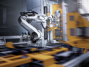Industrial robot in modern factory - CVF01186