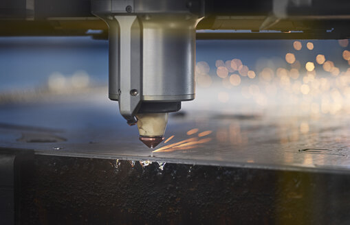 Close-up of laser cutter - CVF01192