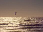 France, Contis Plage, kite surfer - LAF02313