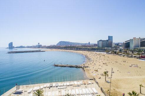 Barcelona beach near The Port Olímpic - TAMF01431
